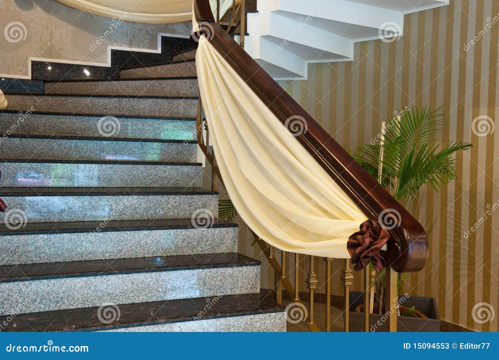 D coration de marbre d 39 escaliers photos stock image 15094553 - Decoration des escaliers ...