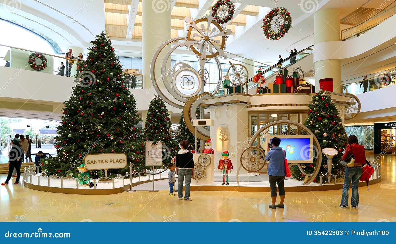 #713818 Décoration De Noël Dans Le Centre Commercial Photo Stock  5363 decorations de noel centre commercial 1300x820 px @ aertt.com