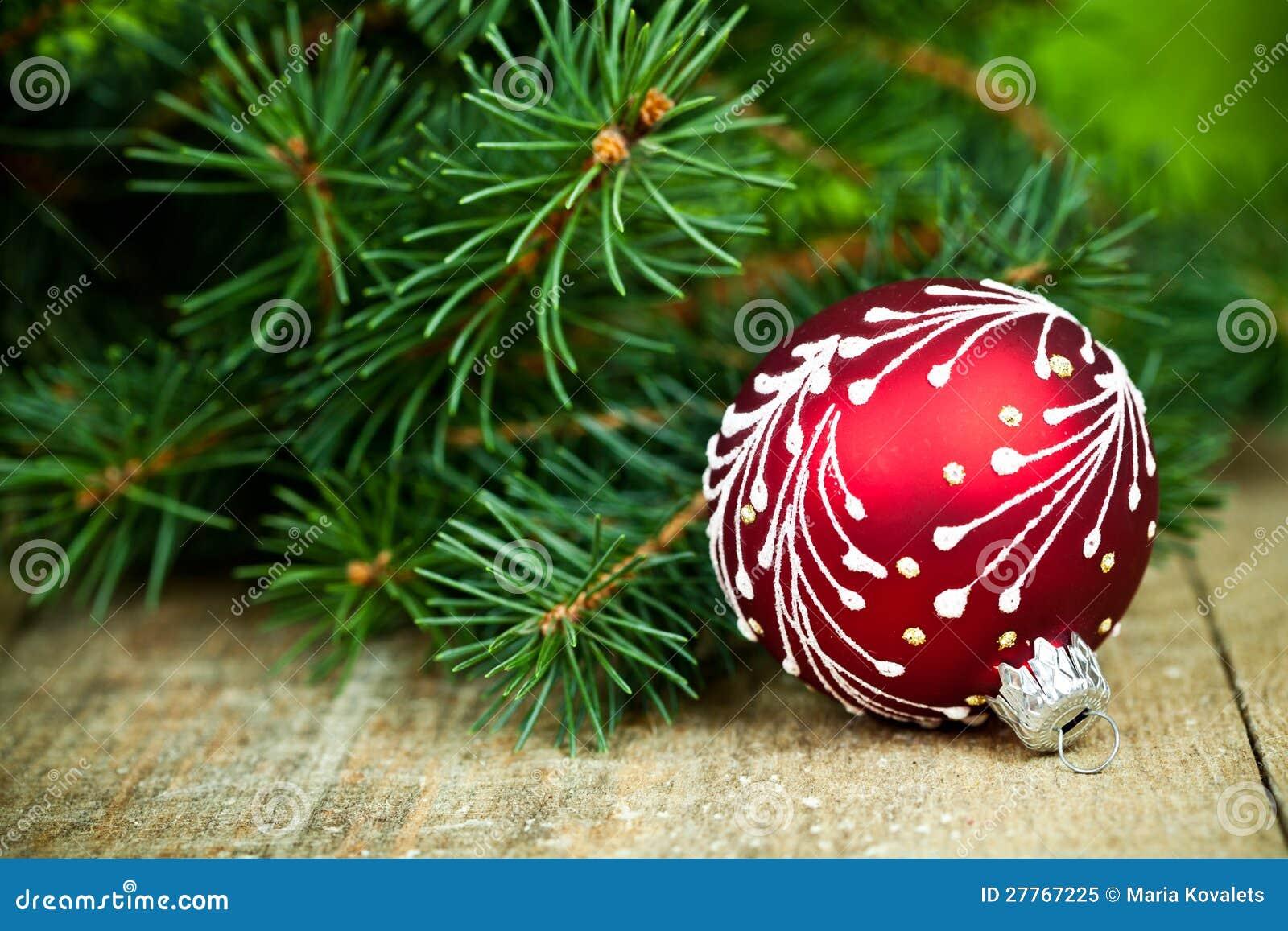 Décoration de Noël et arbre de sapin