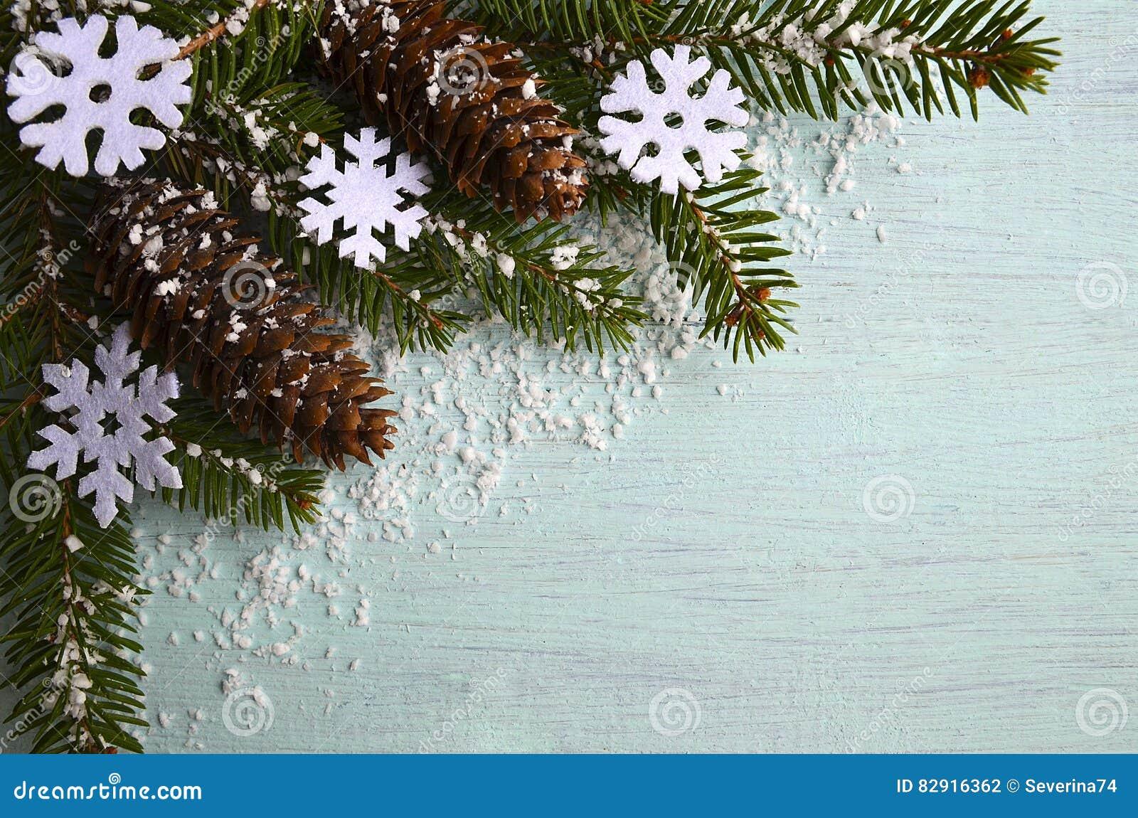 Arbre De Noël Feutre Flocon De Neige Décoration