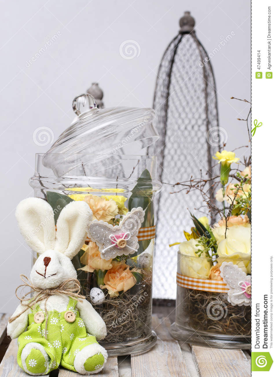 D coration de p ques photo stock image 47499414 - Decoration de paques ...