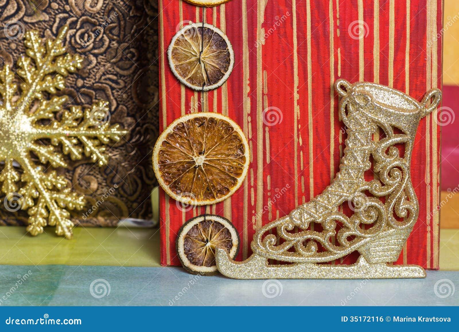 D coration de patin de glace de nouvelle ann e image libre de droits image 35172116 for Decoration glace