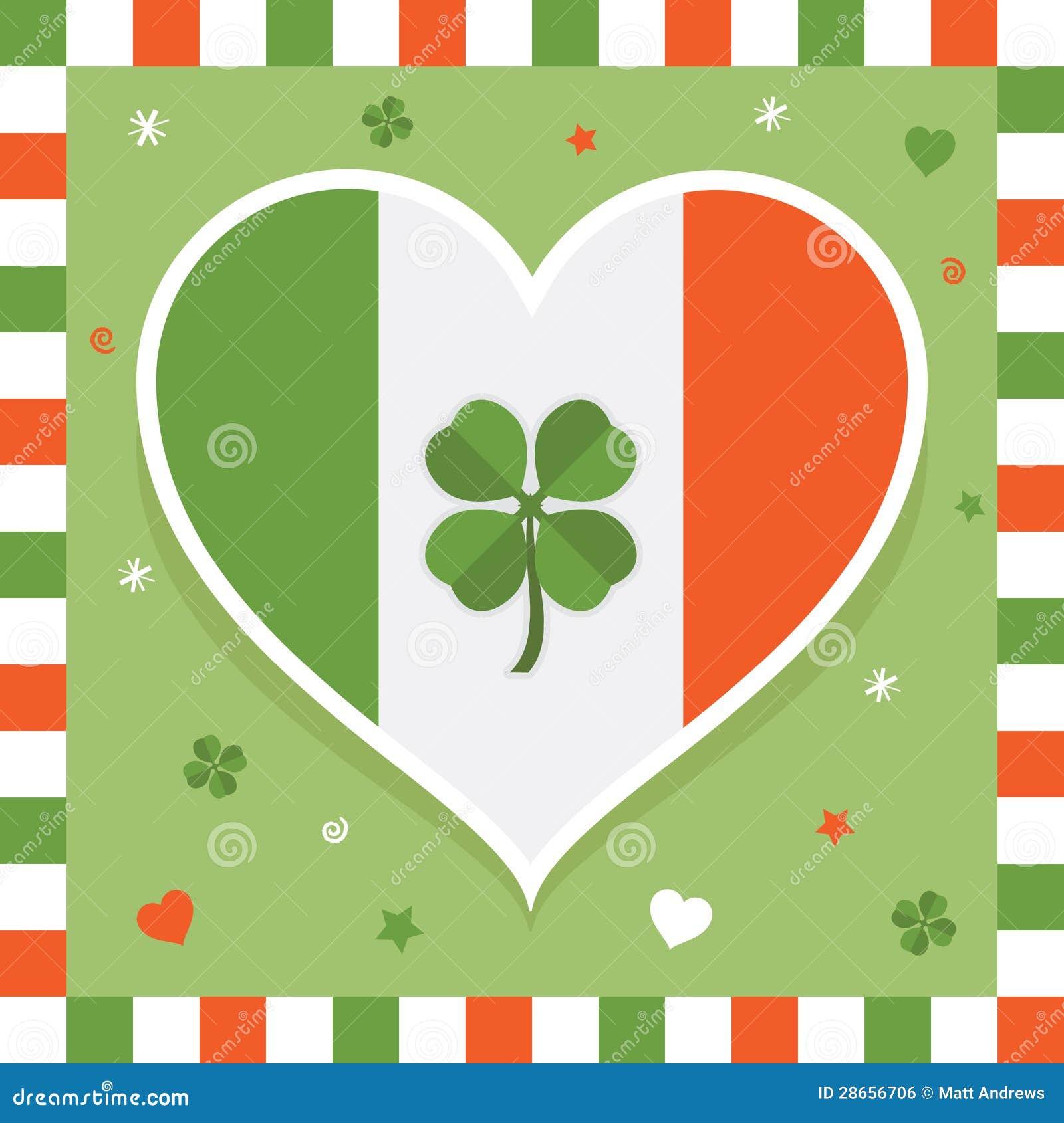 d coration irlandaise image libre de droits image 28656706