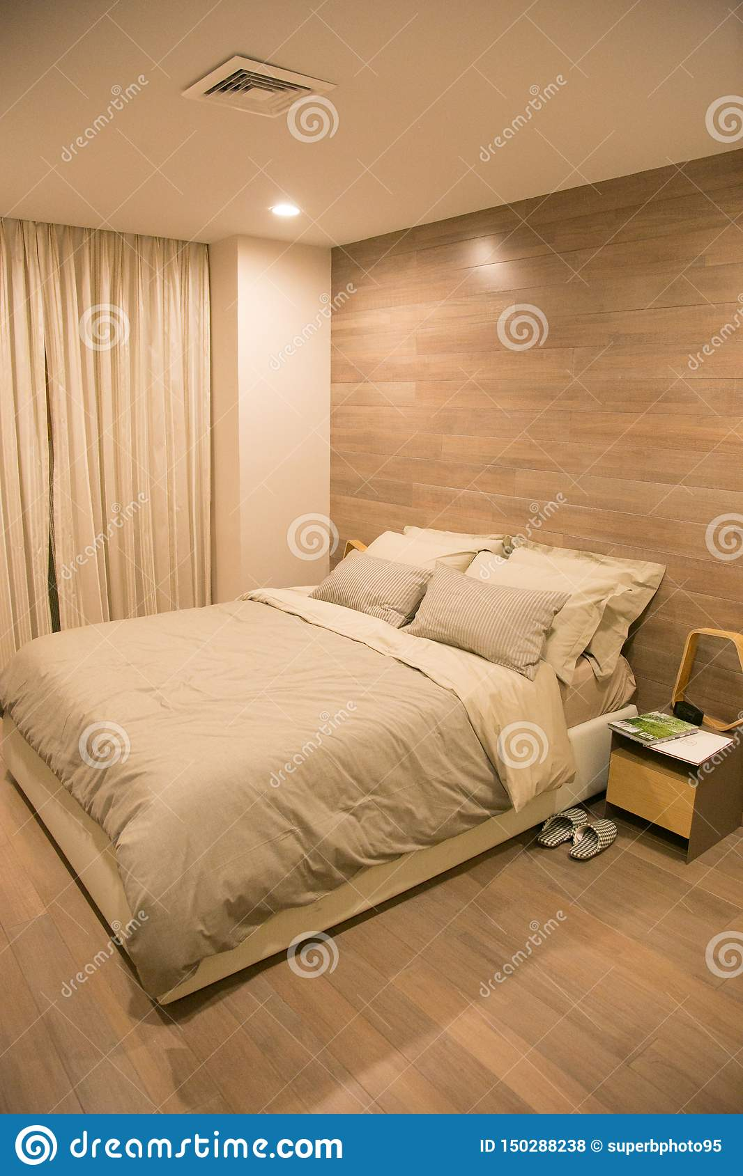 Decoration Chambre Coucher décoration moderne et de luxe de chambre à coucher photo