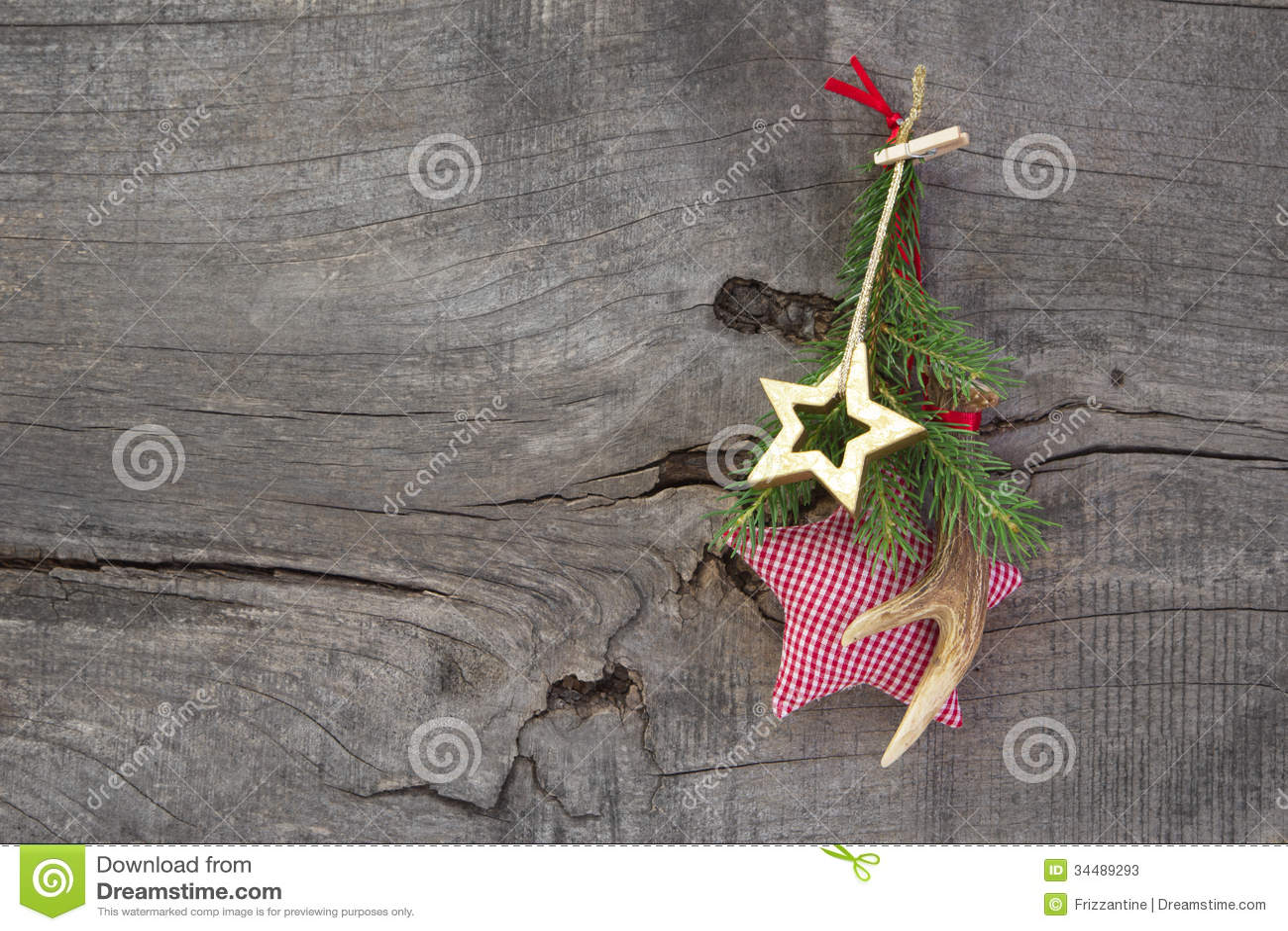 #96354F Décoration Naturelle De Noël Avec L'andouiller Et L'étoile  6453 décoration noel naturelle 1300x957 px @ aertt.com