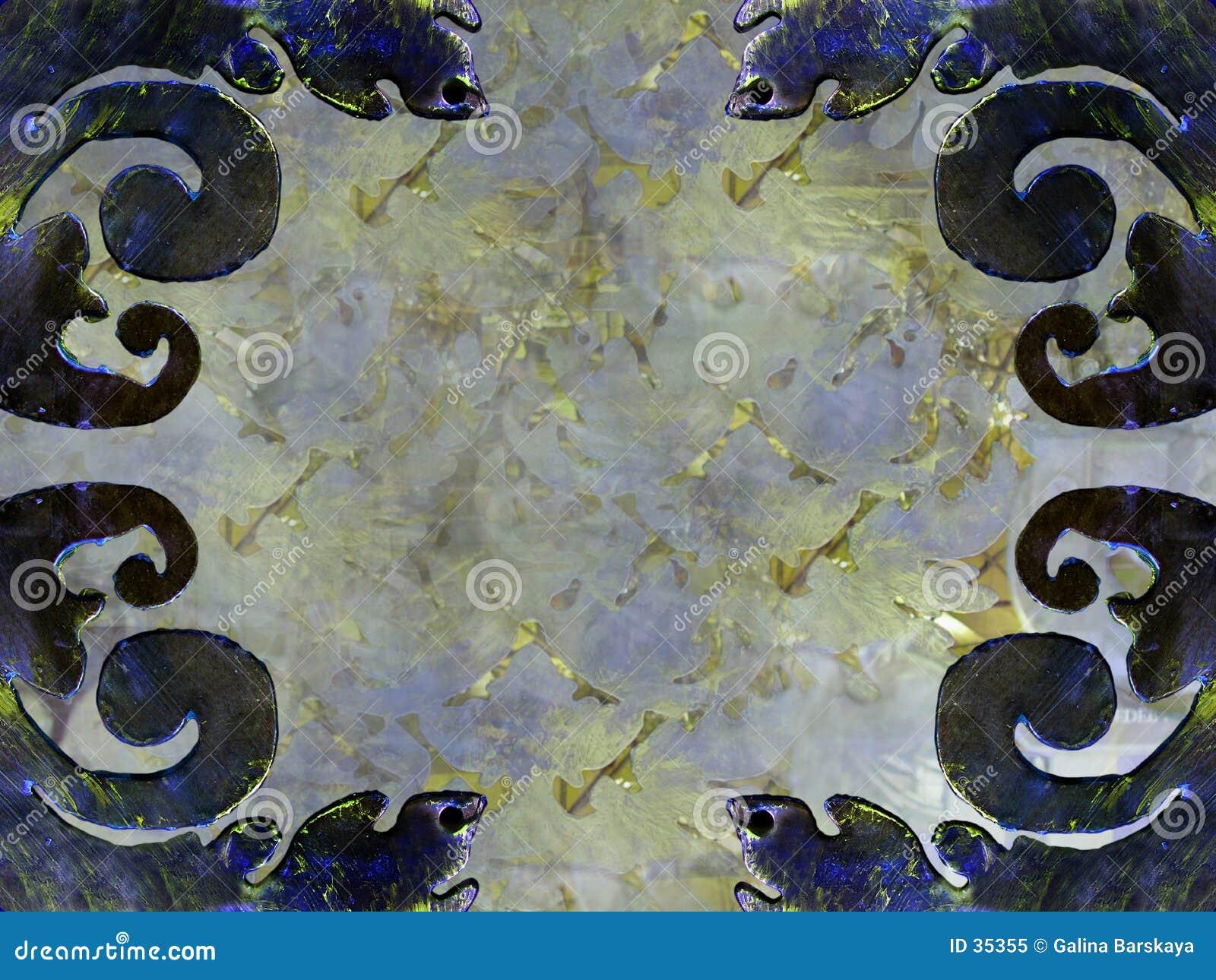 Décorations abstraites