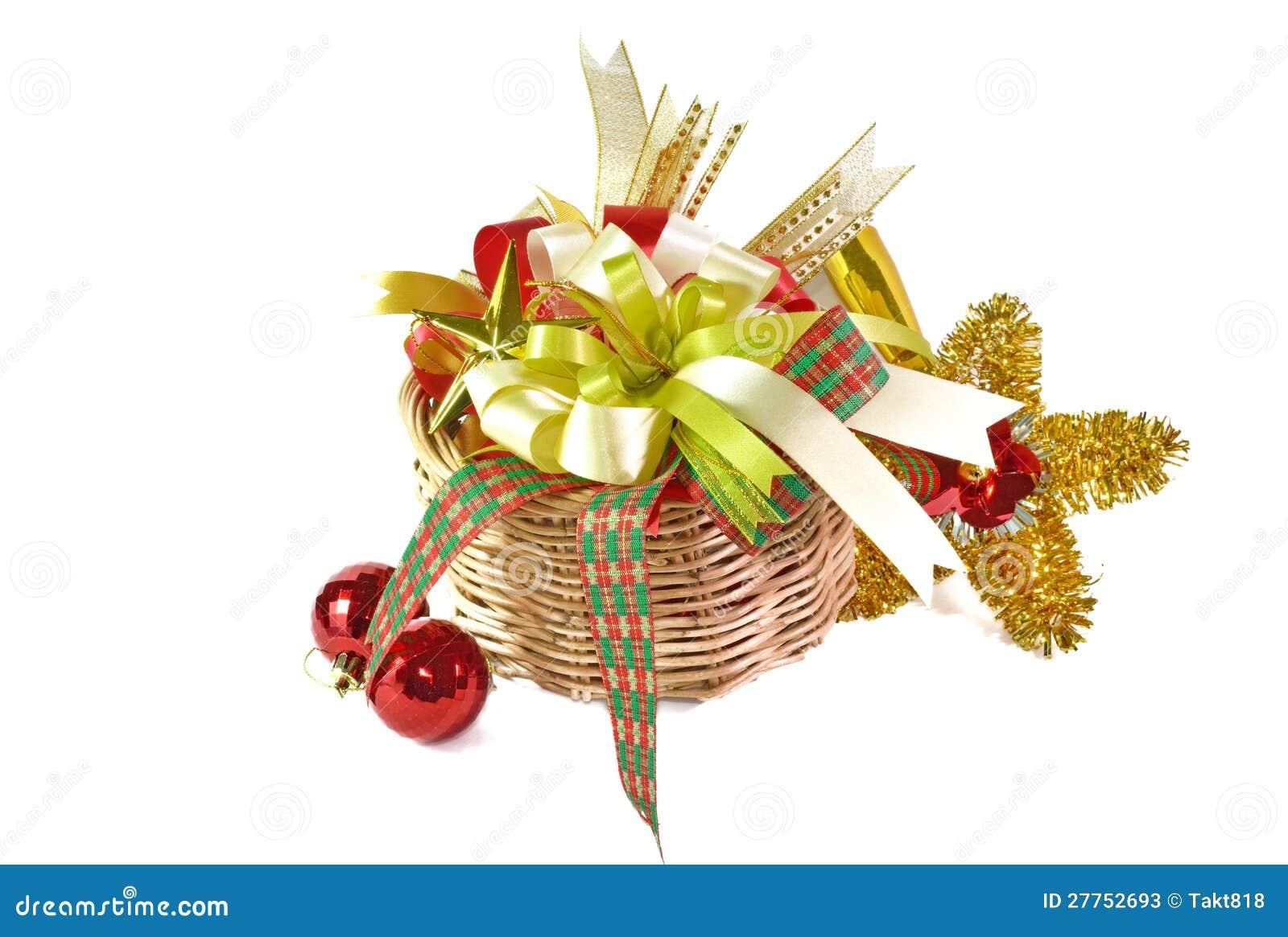 Décorations de Noël, d isolement sur le blanc