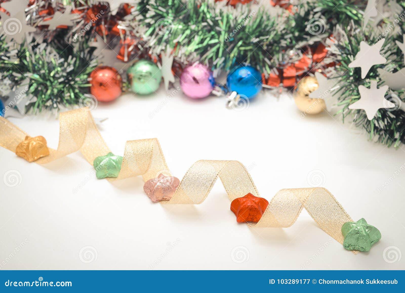 Décorez de Noël ou nouvel année ou anniversaire, etc. Style doux et doux de ton dans le ton de vintage
