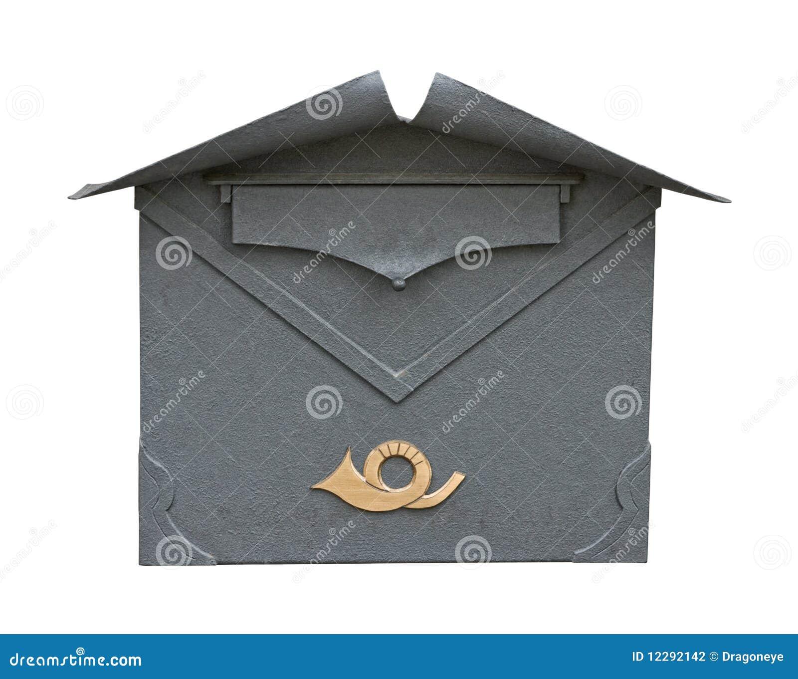 Découpage classique européen de boîte aux lettres