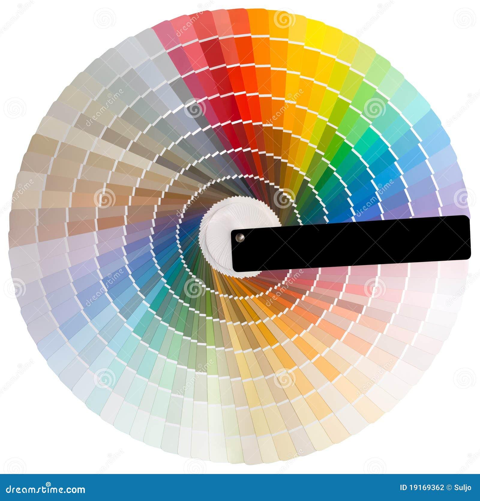 Découpage coloré de cercle