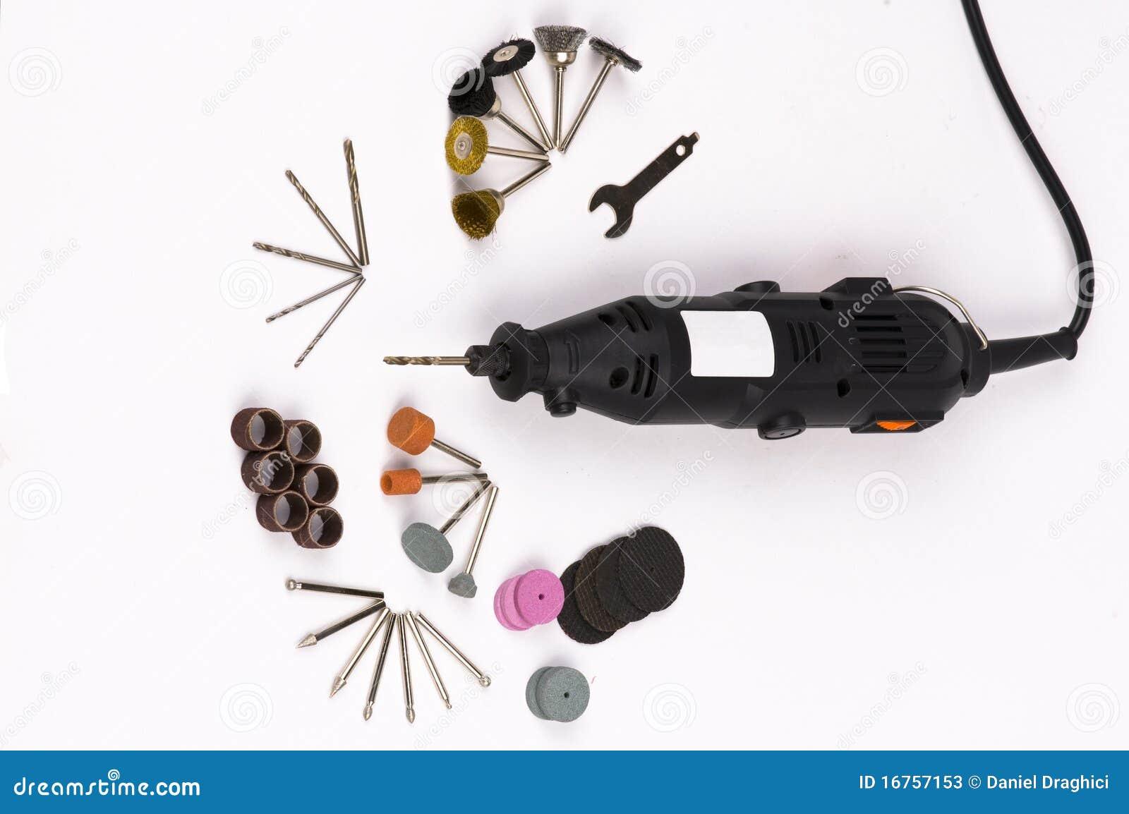 Découpage, perçage, outils de polissage