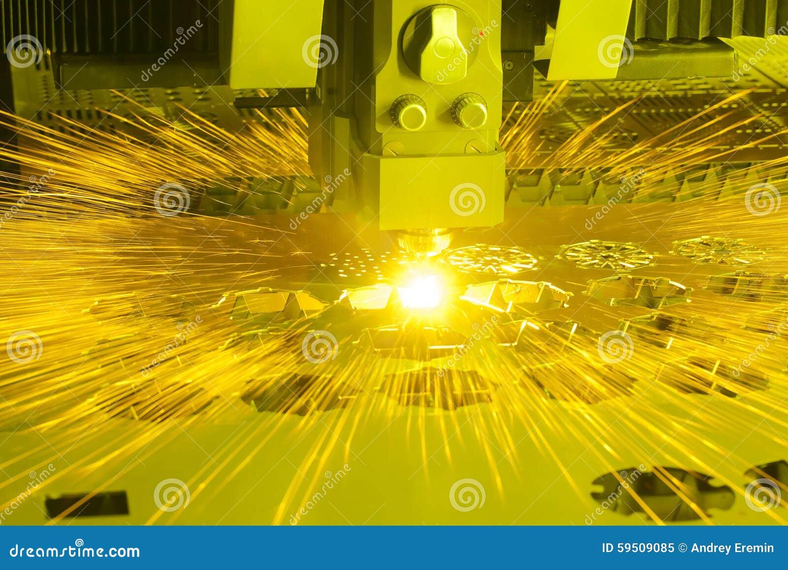 Découpeuse industrielle de laser