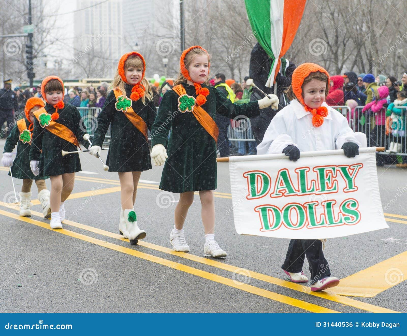 Défilé de Chicago St Patrick