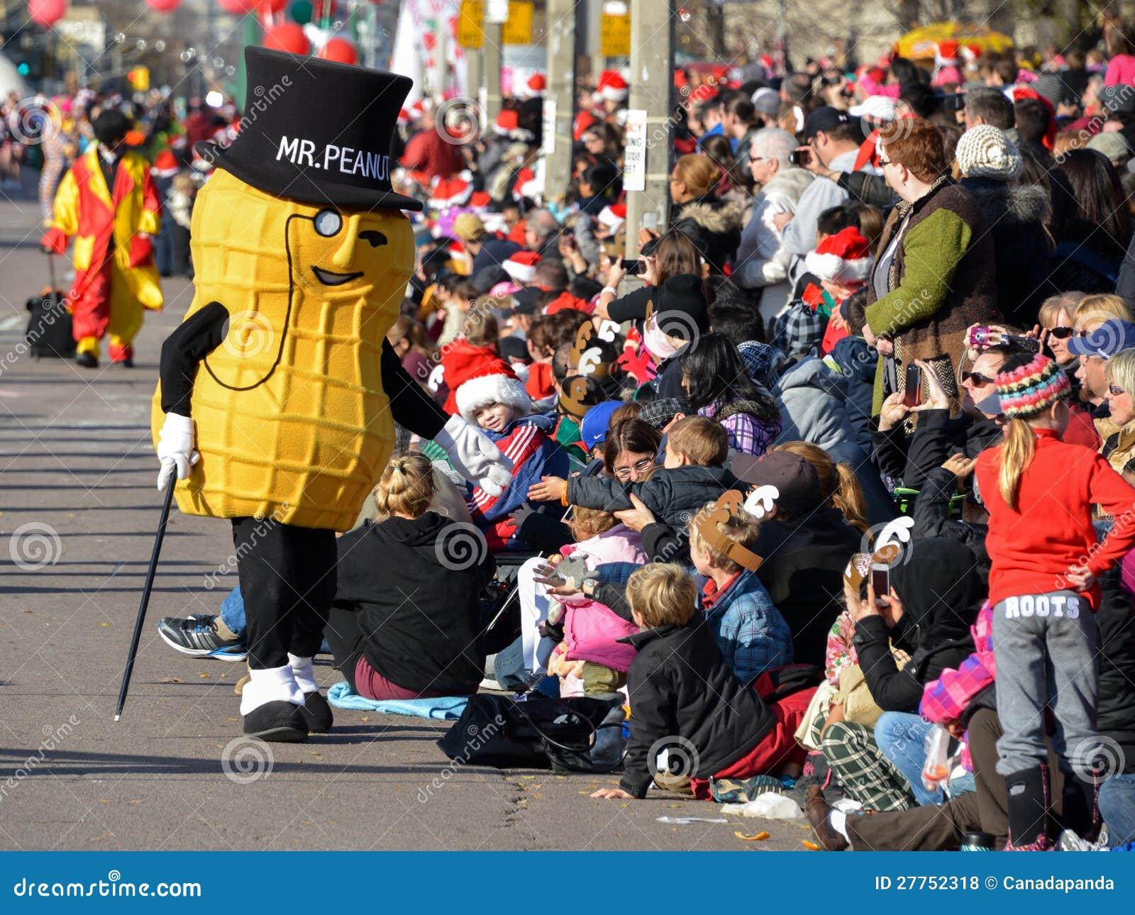 Défilé du père noël de Toronto 108th