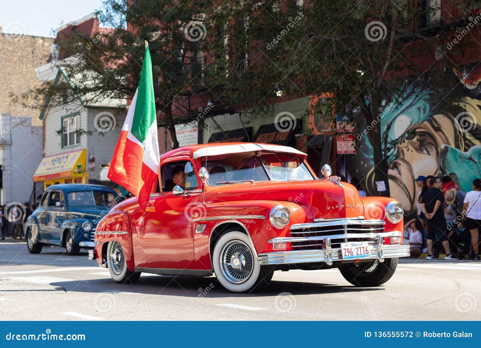 Défilé mexicain 2018 de Jour de la Déclaration d Indépendance de Pilsen