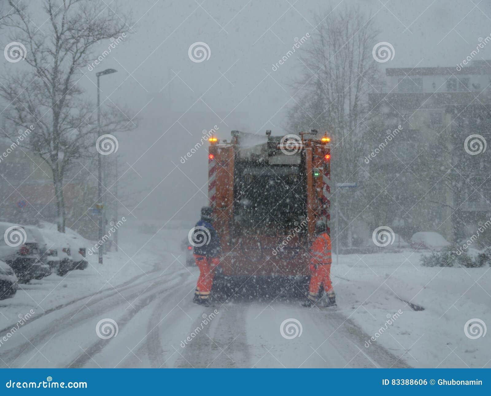 Dégagement de neige