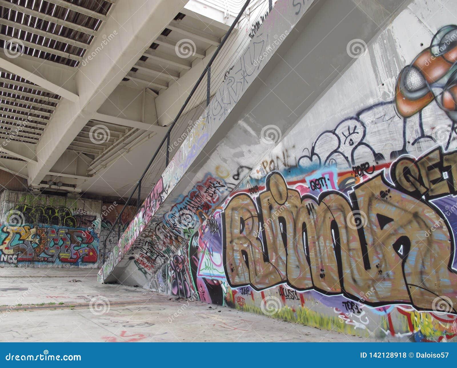 Dégradation urbaine des banlieues à Rome