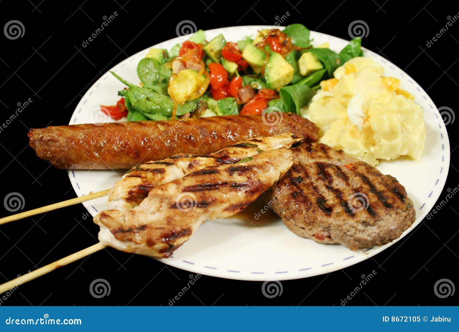 Déjeuner de BBQ