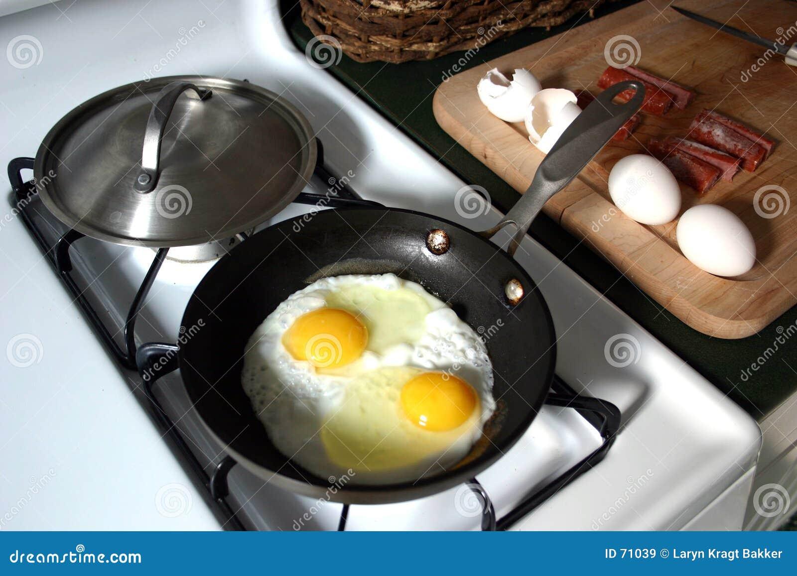 Déjeuner - eggs&sausage