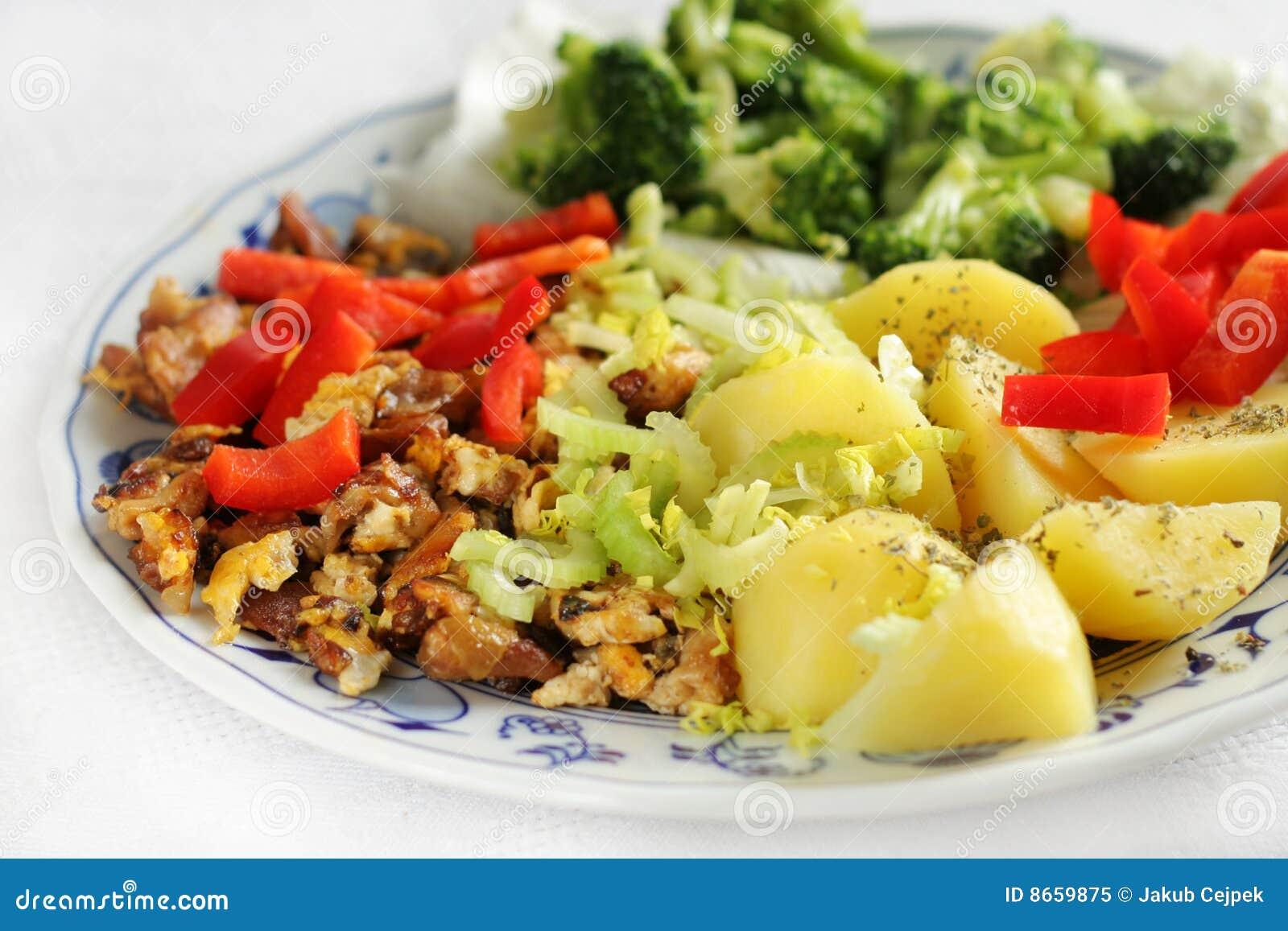 Déjeuner végétarien