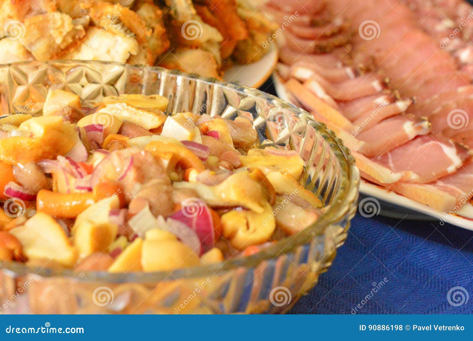 Délicatesse de faim de viande de festin de Gala Dinner