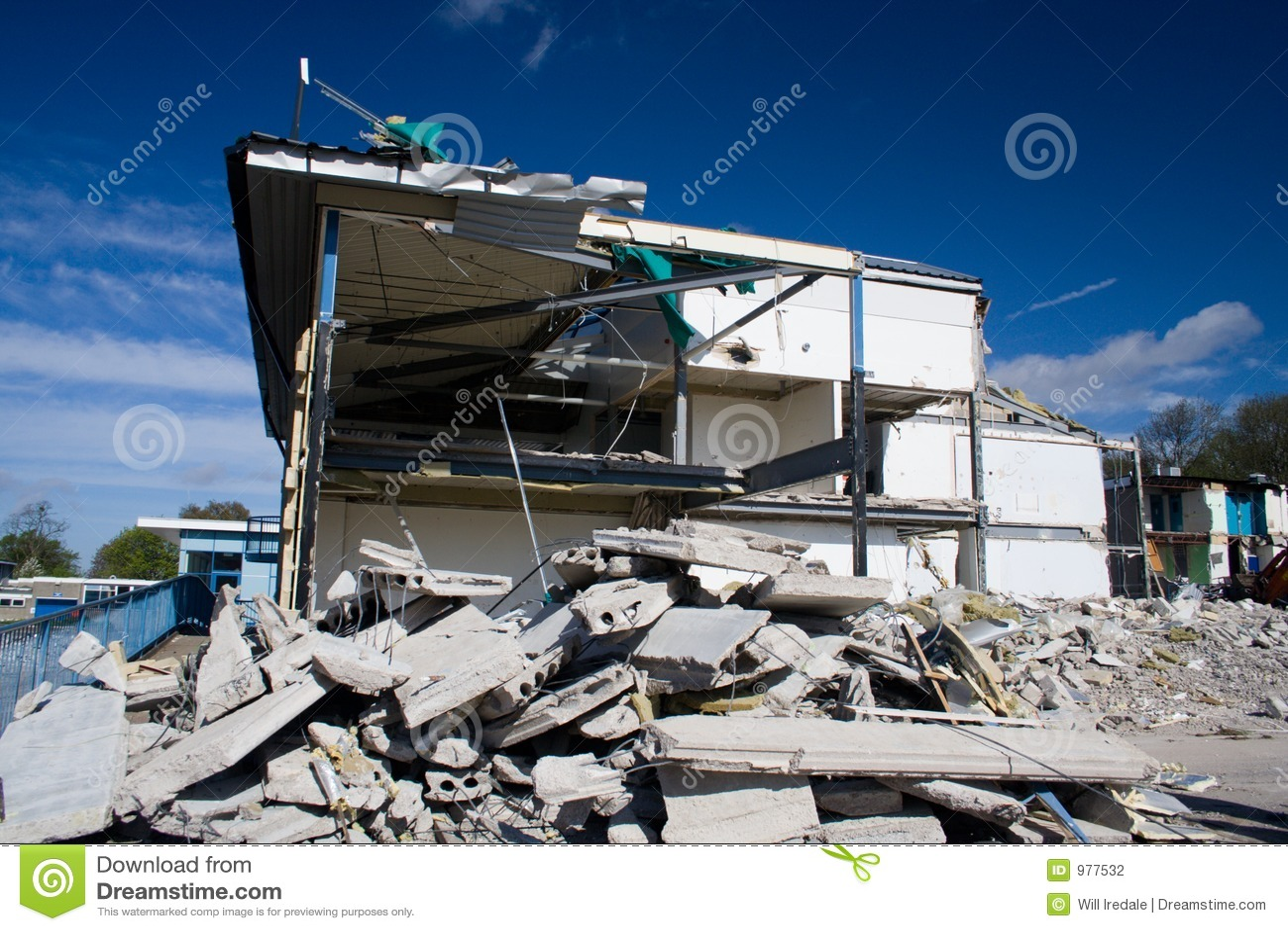 Démolition de construction