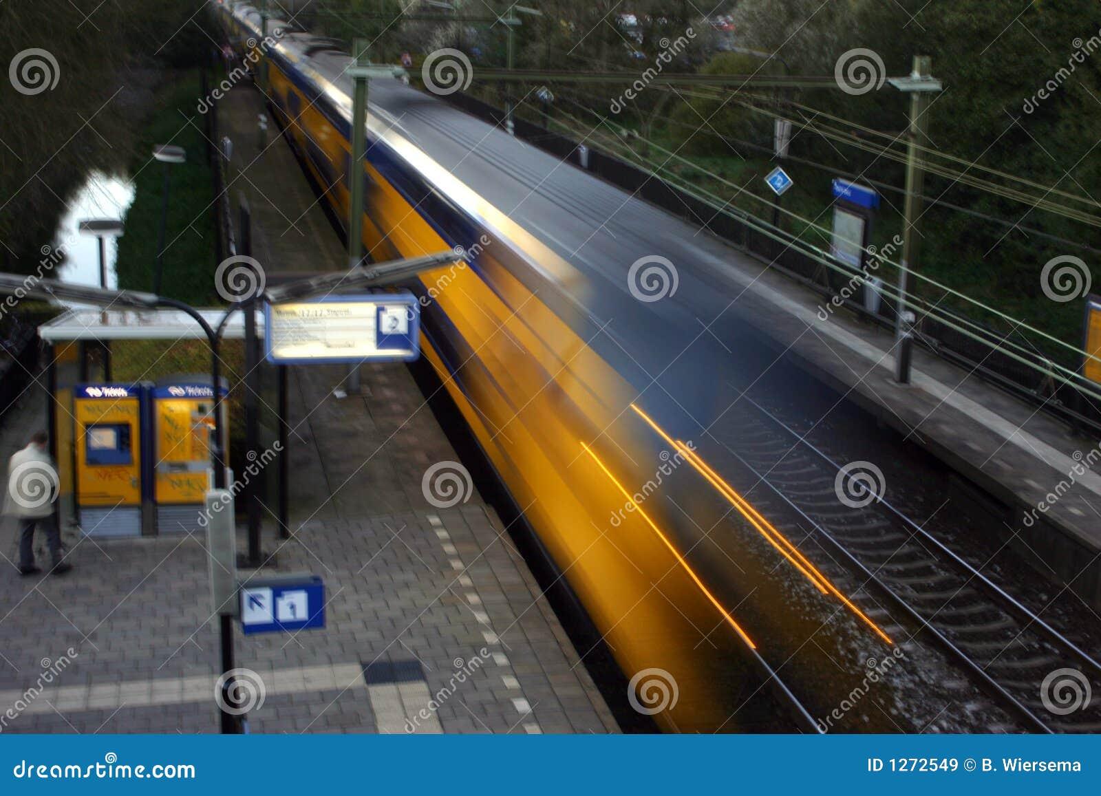 Dépassement du train