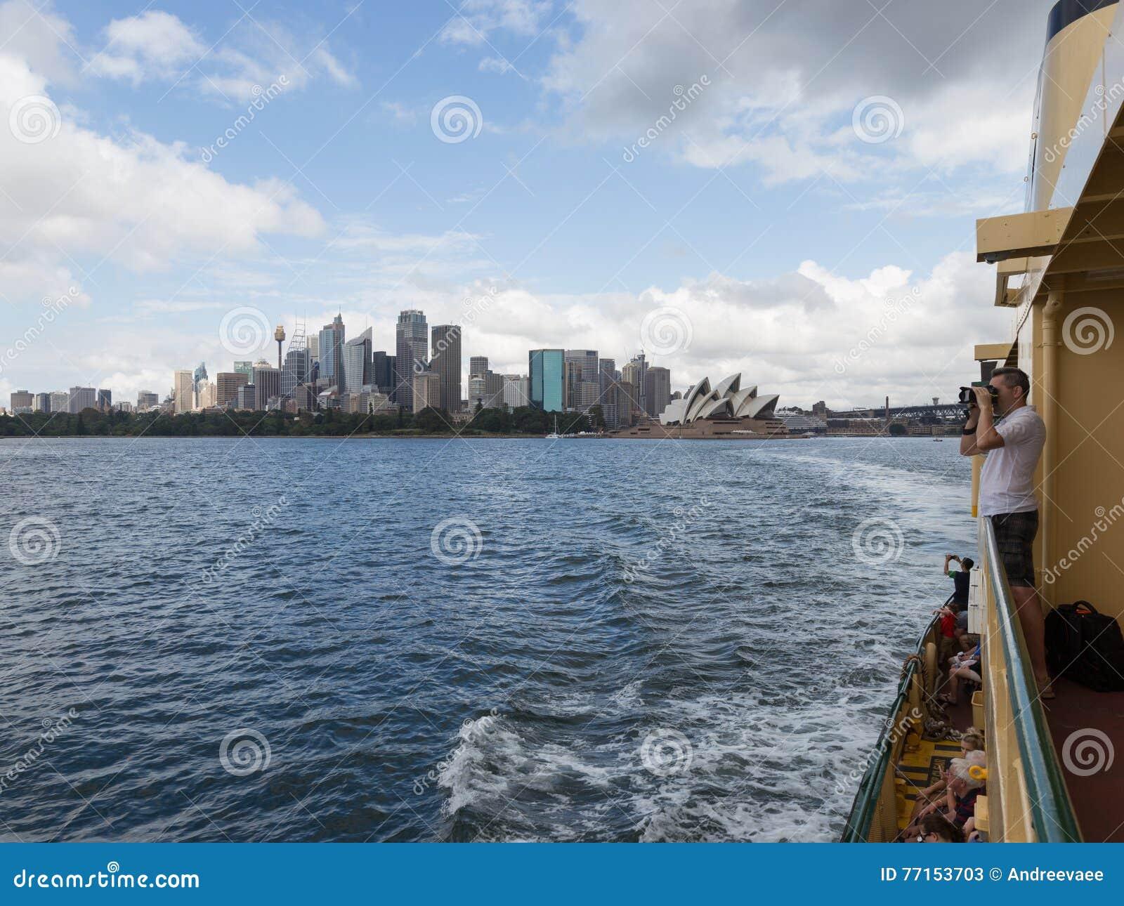 Déplacement en ferry à Sydney