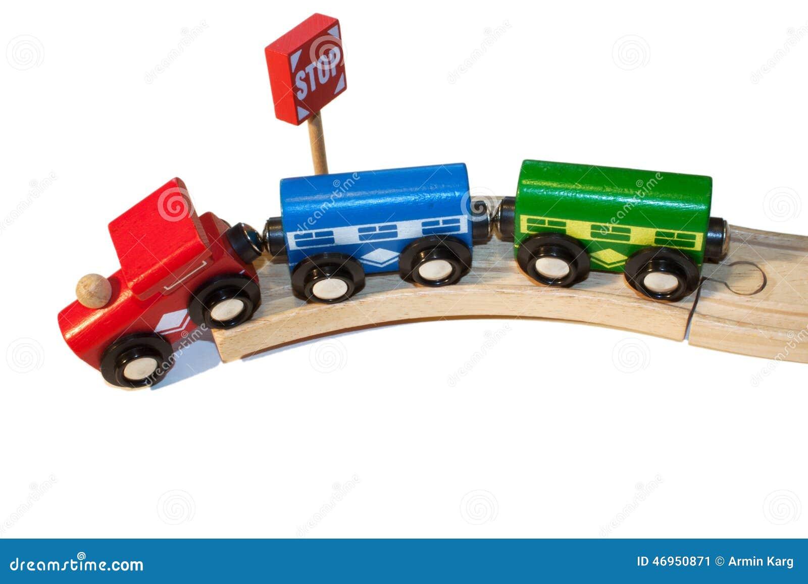 Déraillement d un train de jouet