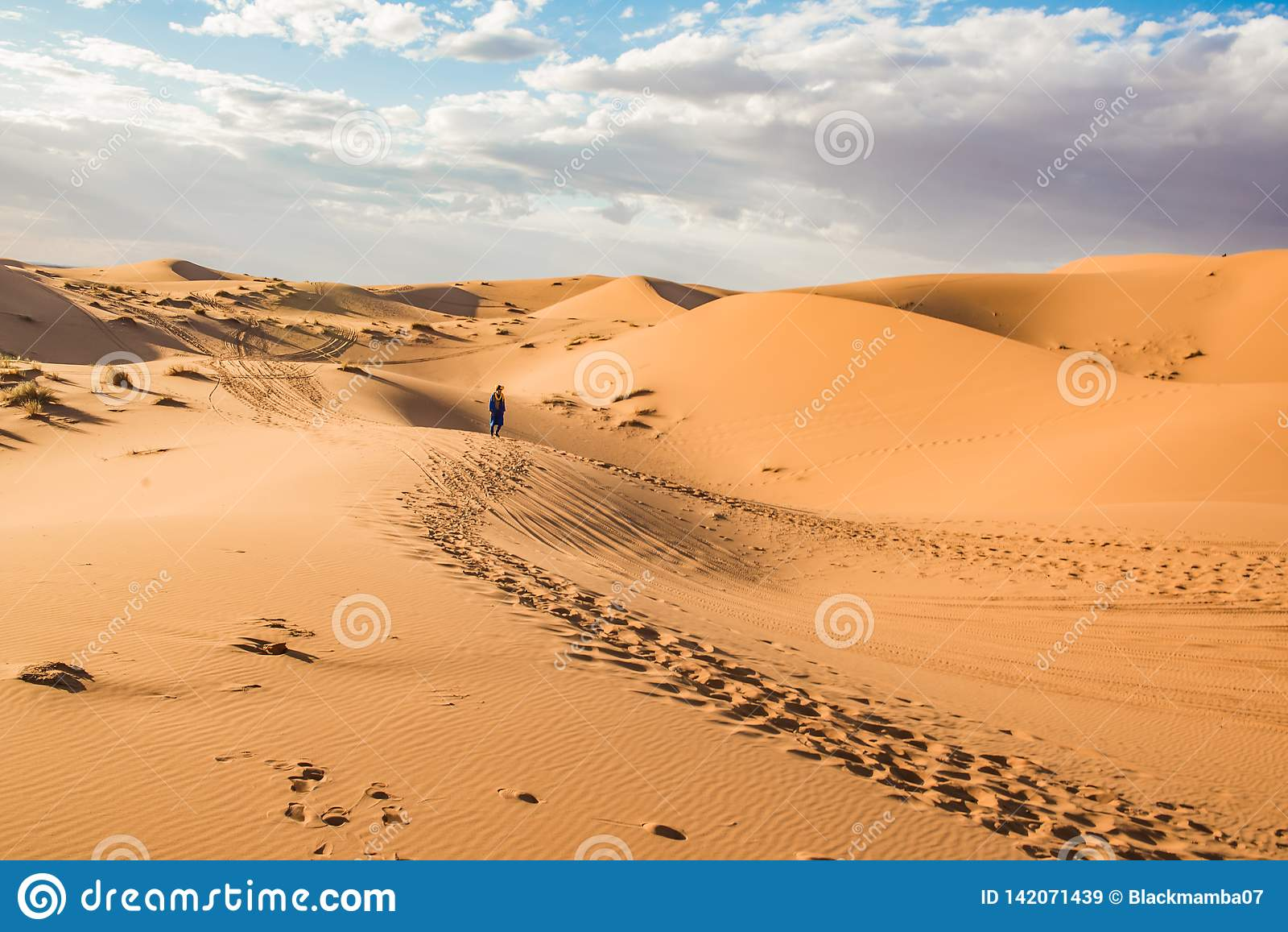 Désert de Merzouga, Marocco