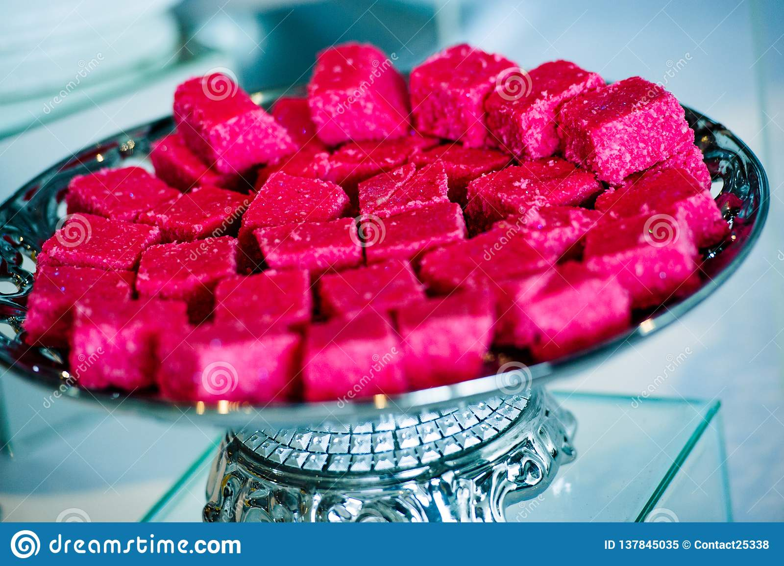 Déserts et bonbons indiens traditionnels