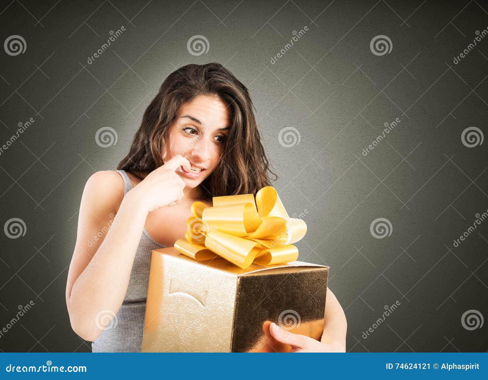 Désireux d ouvrir un cadeau