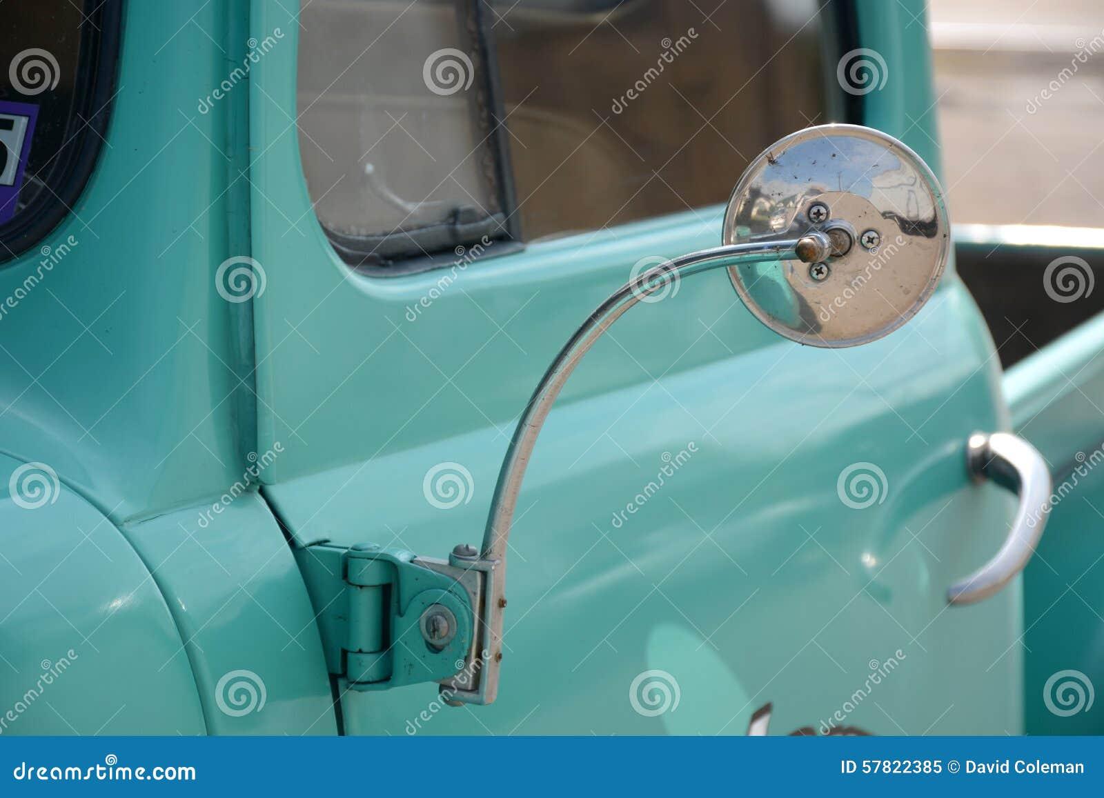 Détail antique de camion
