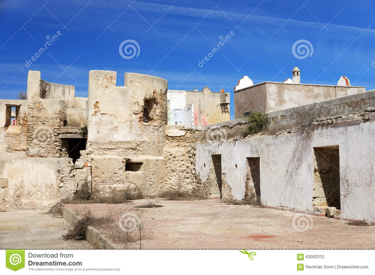 Download Détail Architectural De Mazagan, EL Jadida, Maroc Photo stock - Image du afrique, arabe: 63092312