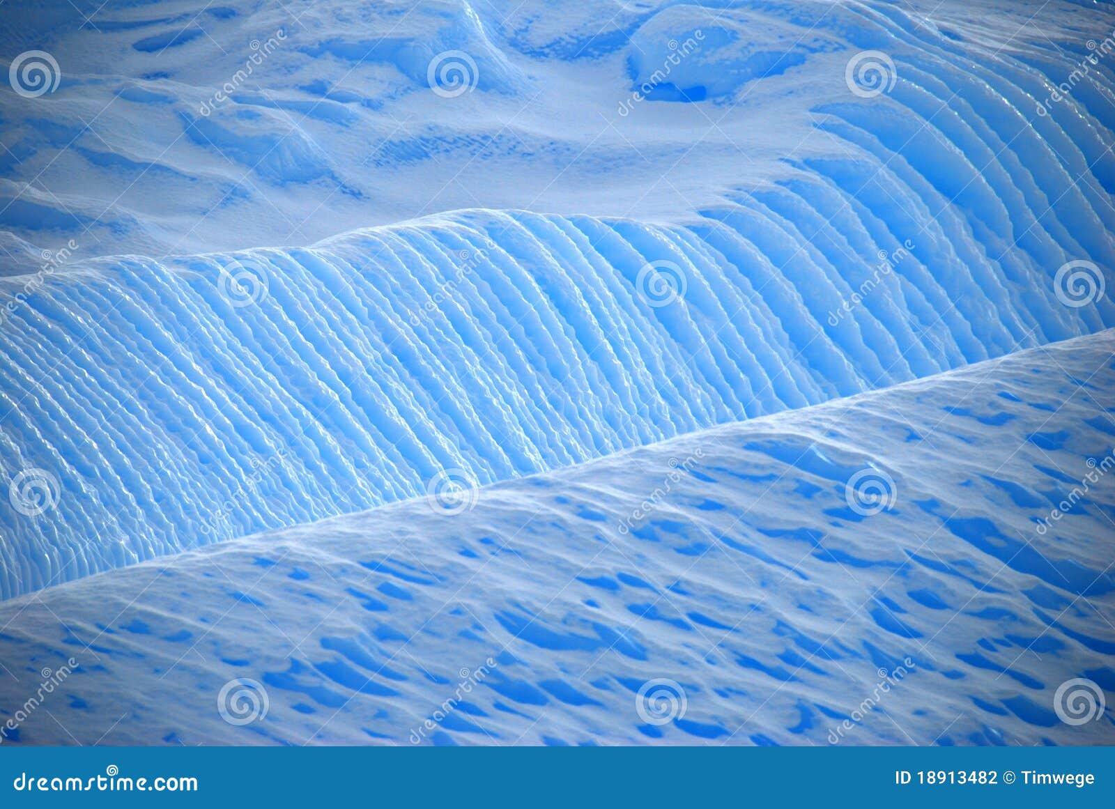 Détail bleu de glace d iceberg