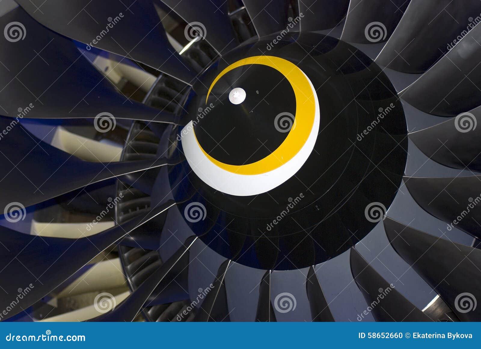 Détail d avion montré au salon aérospatial international de MAKS