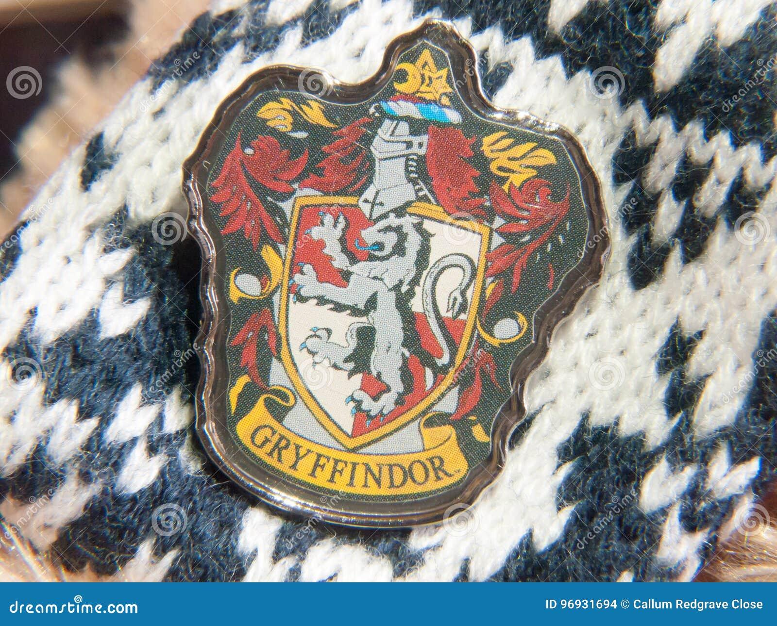 Detail D Embleme De Maison De Gryffindor D Insigne De Harry Potter