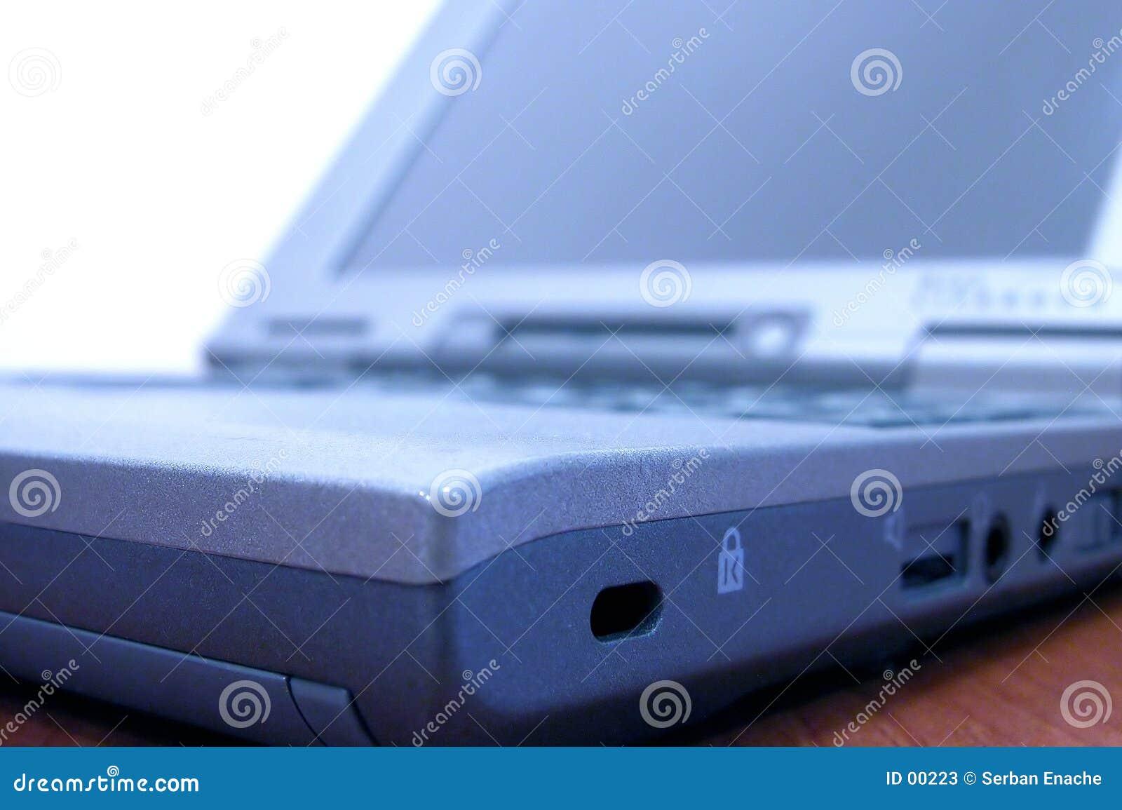 Détail d ordinateur portatif