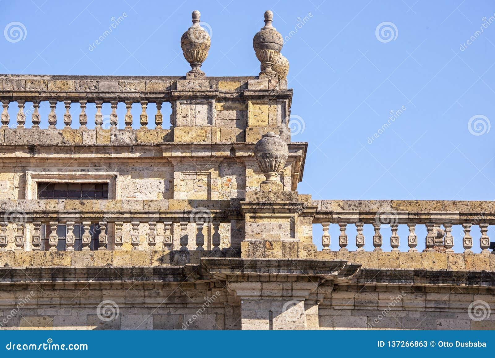 Détail d une balustrade coloniale espagnole