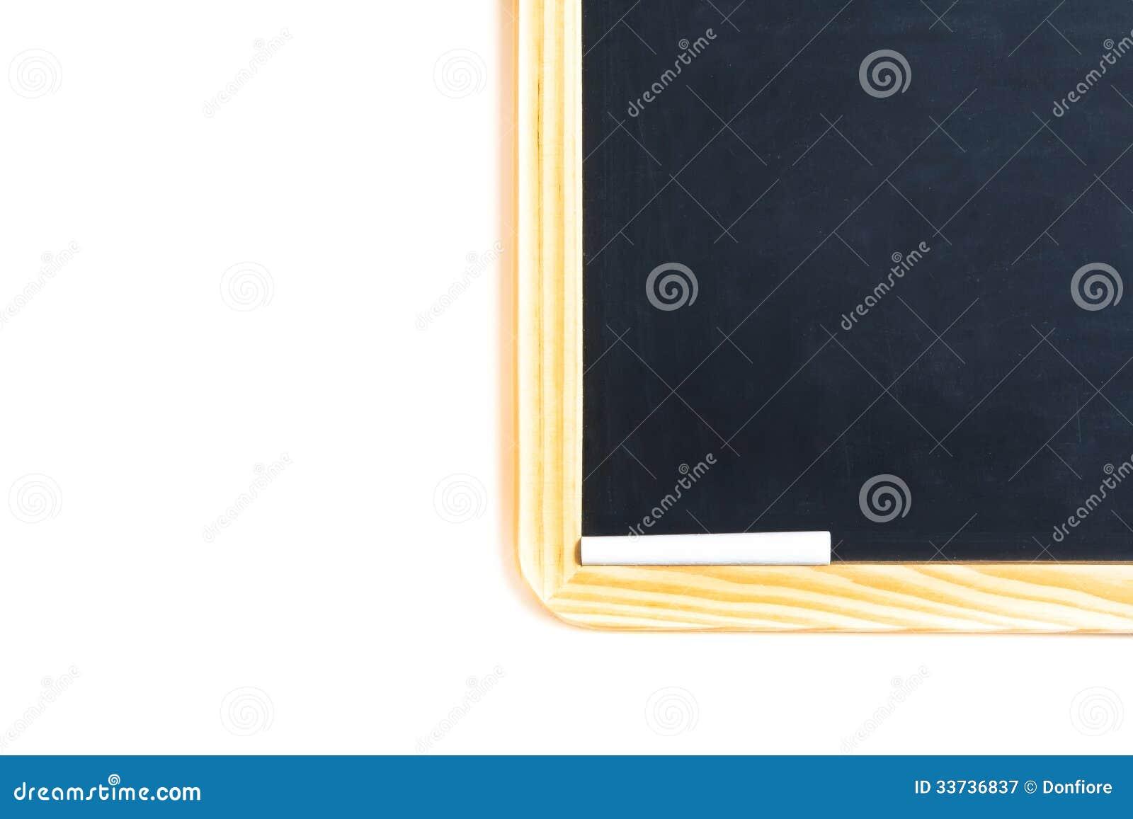 d tail de tableau noir d 39 cole avec la craie photographie stock libre de droits image 33736837. Black Bedroom Furniture Sets. Home Design Ideas