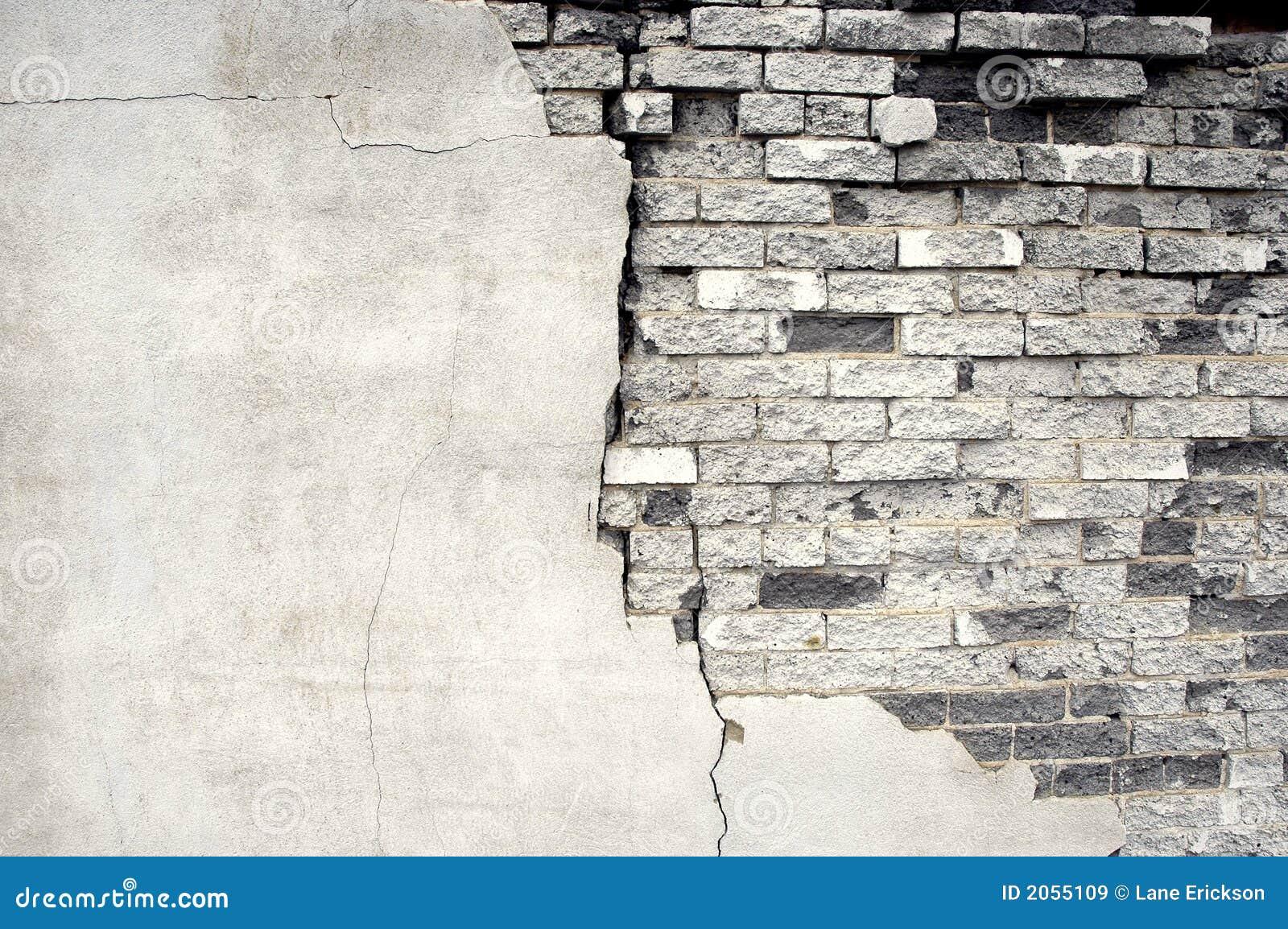 Détail de vieux mur de briques