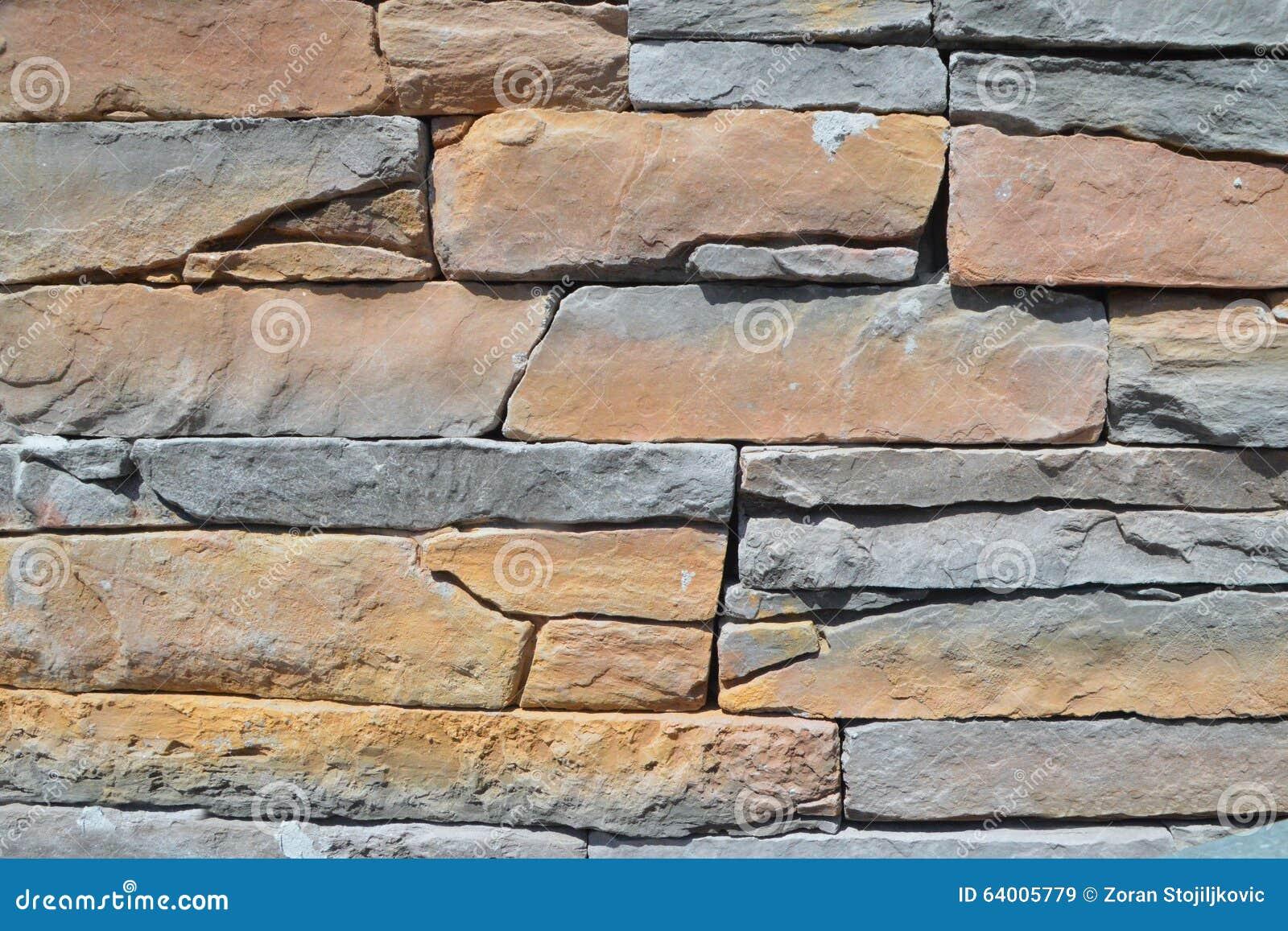 Détail du mur