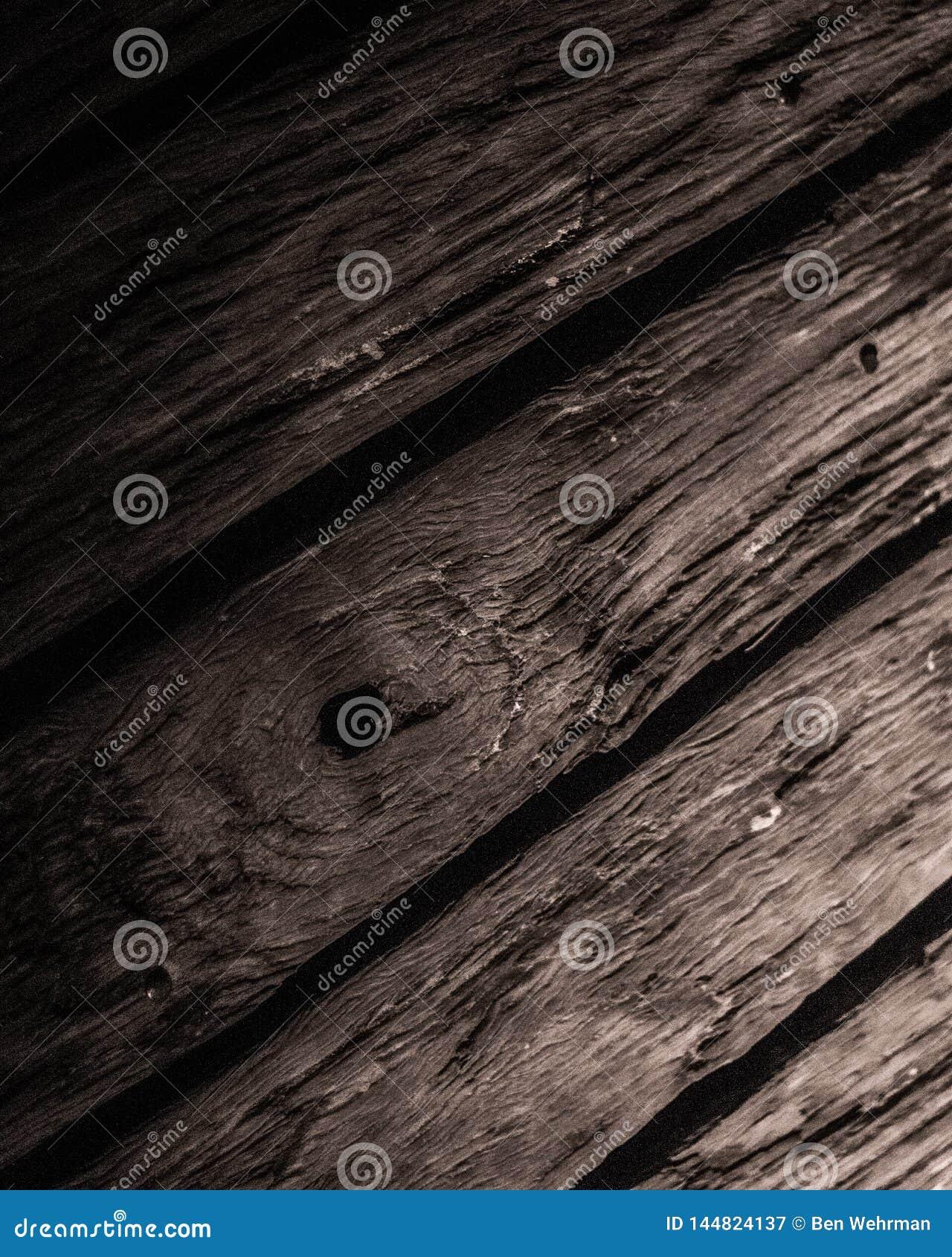 D?tail en bois de plate-forme