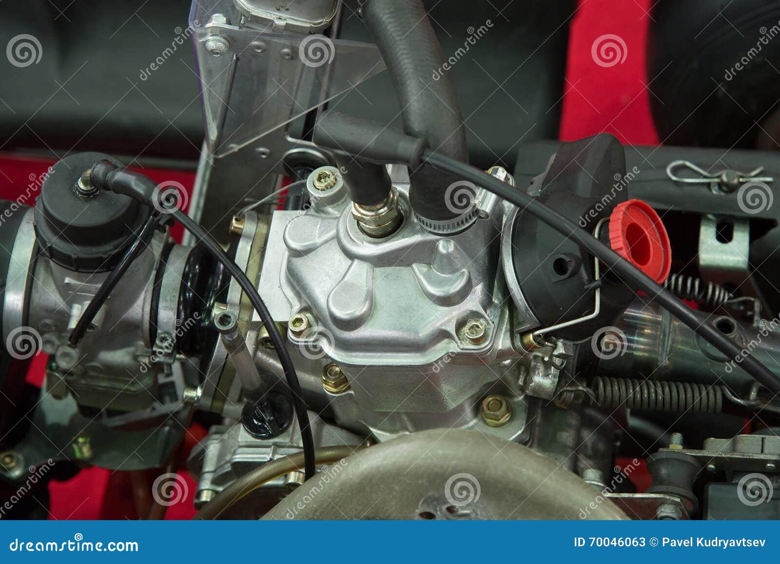 Détails d un nouveau moteur de kart