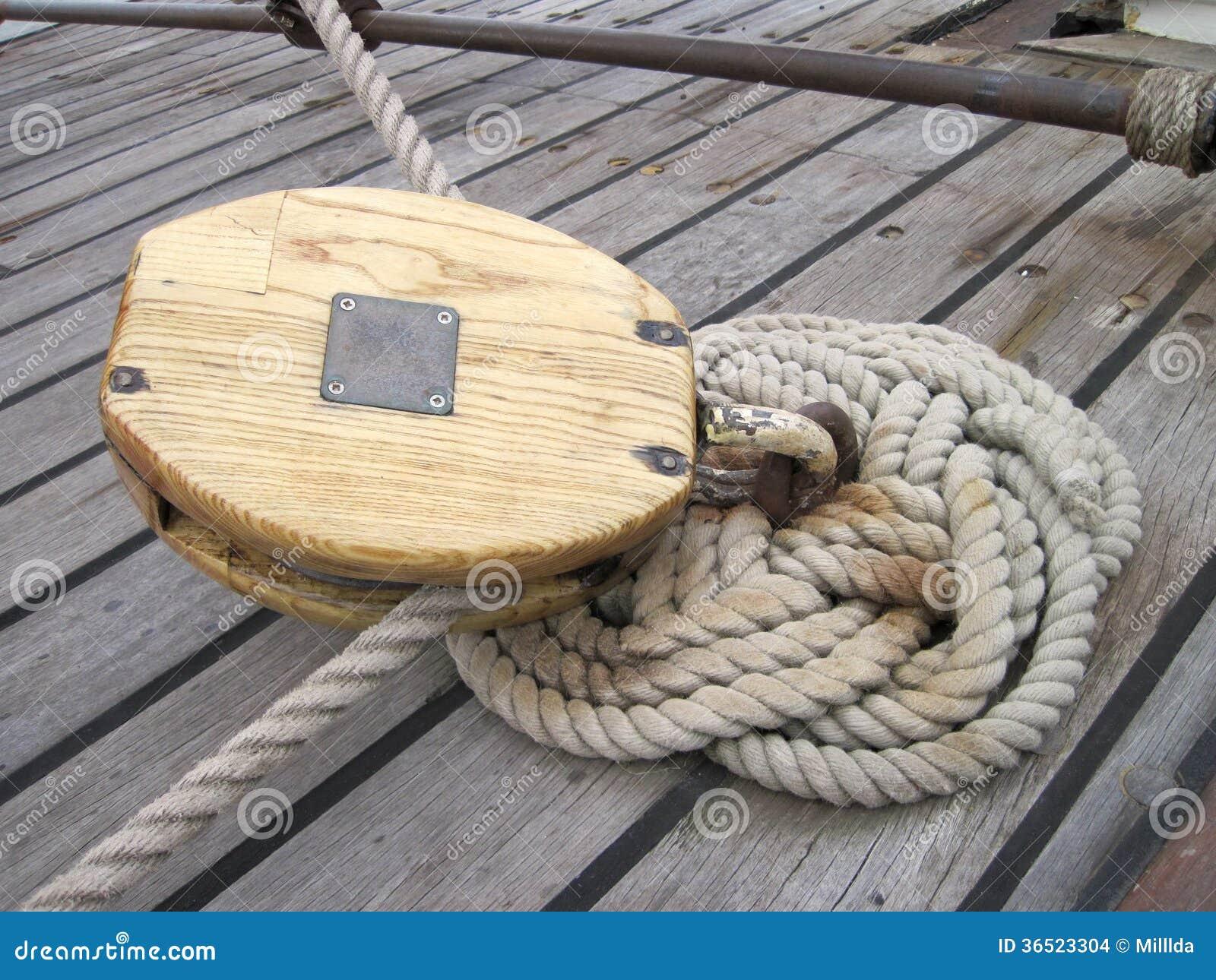 Détails de bateau de navigation