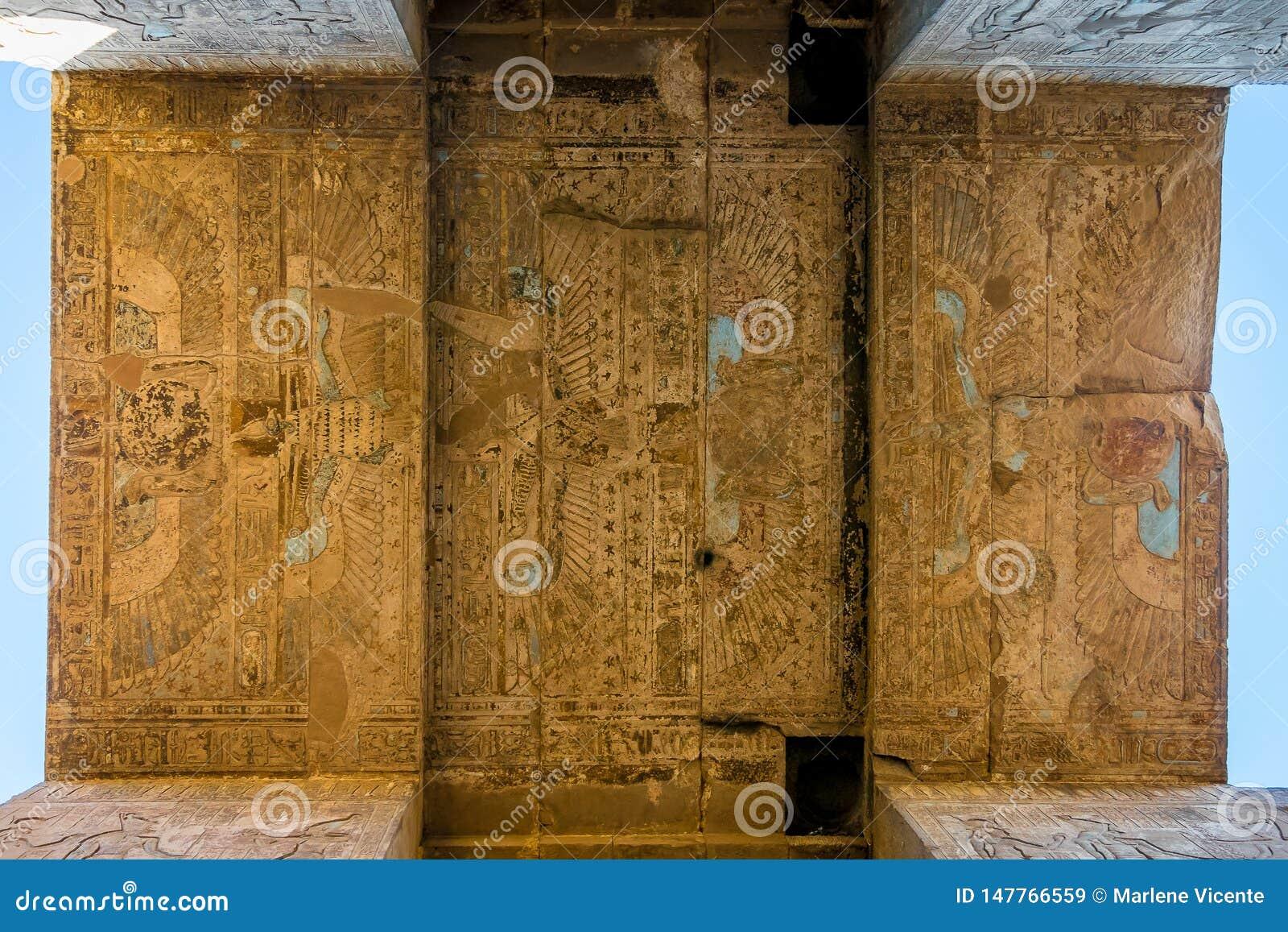 Détails du temple d Edfu ?gypte