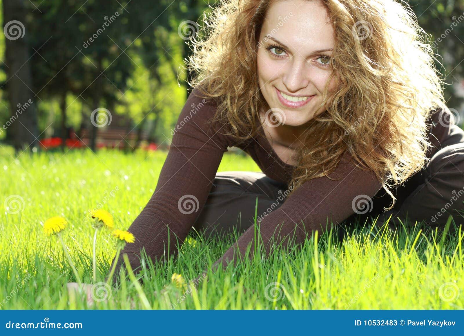 Détente dans l herbe