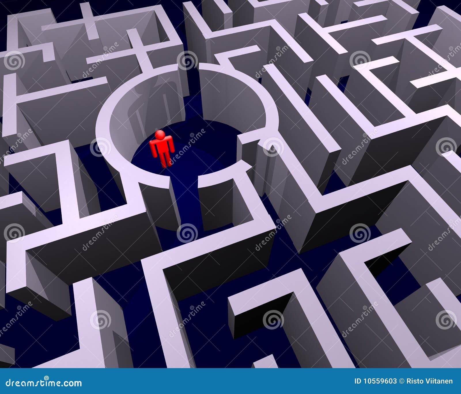 Détruit dans le labyrinthe
