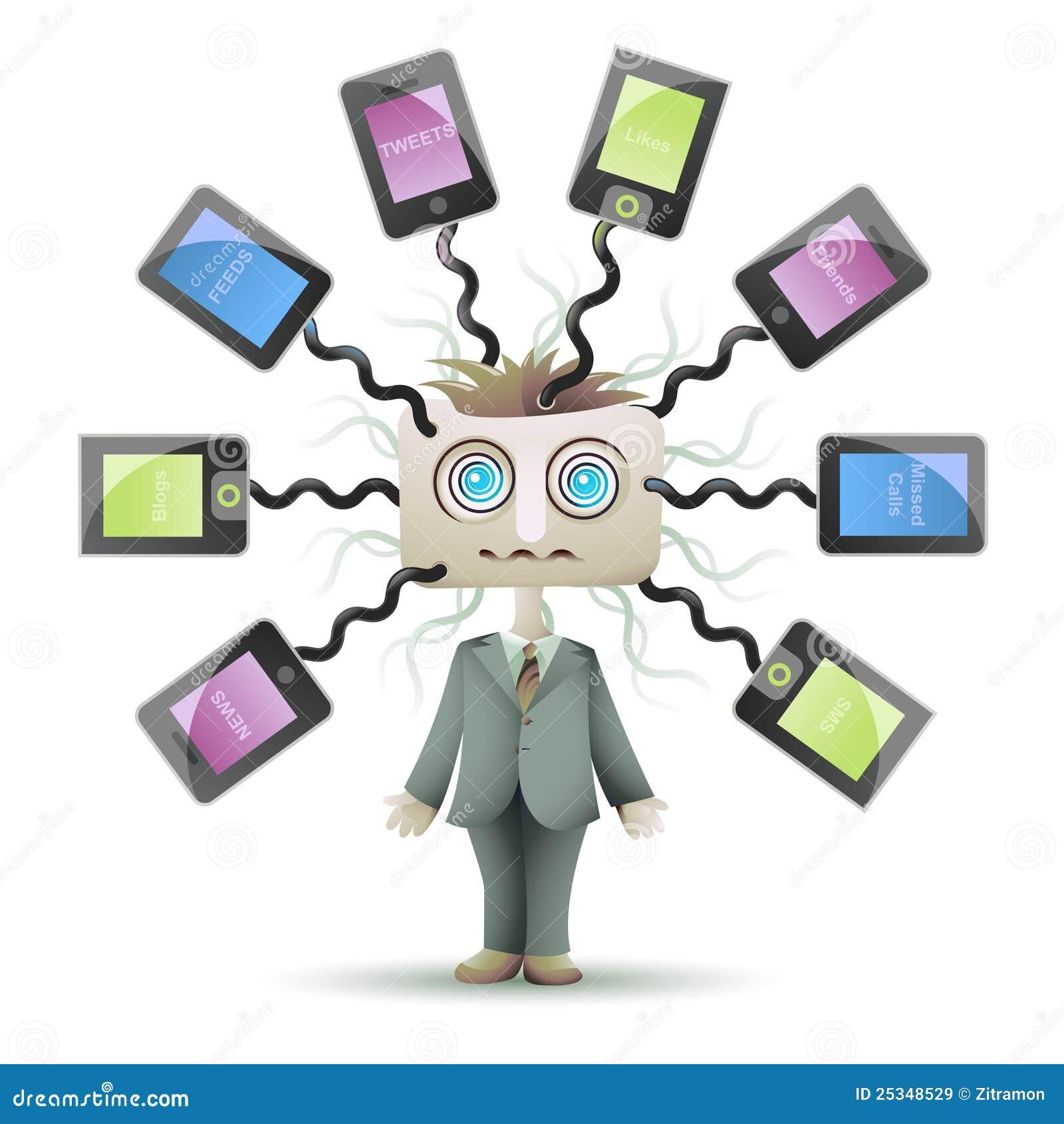 Détruit dans le réseau social