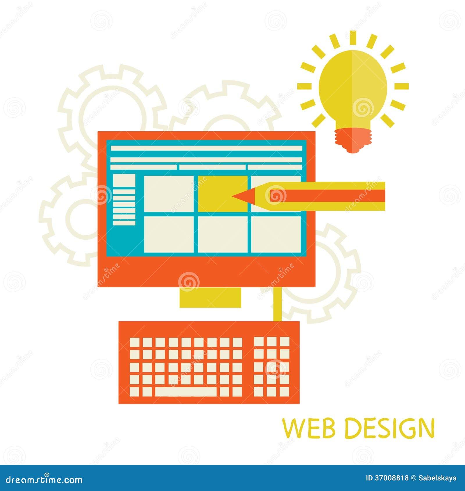 Développement de conception de site Web